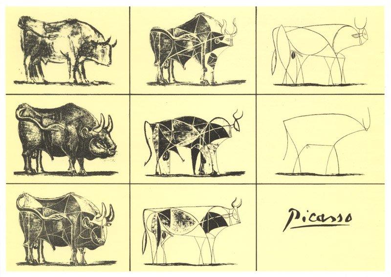 Picasso Boğa Çizimi