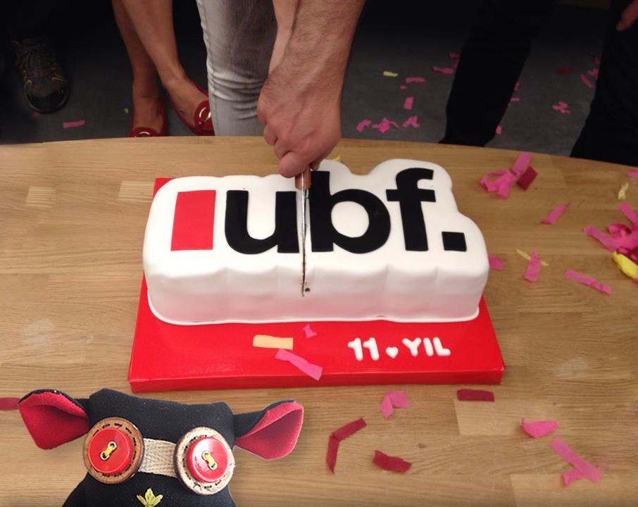 UBF 11. Yaşgünü Pastası