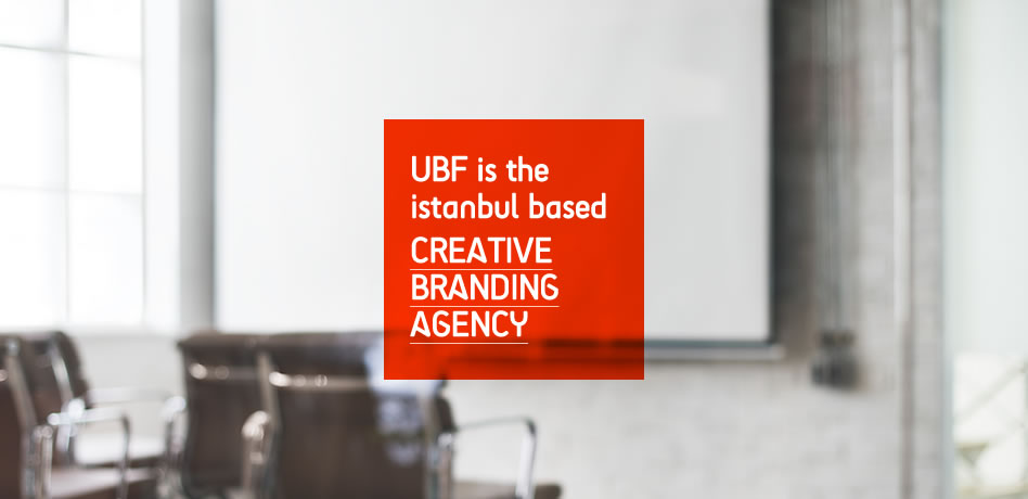 UBF is the İstanbul based creative branding agency.