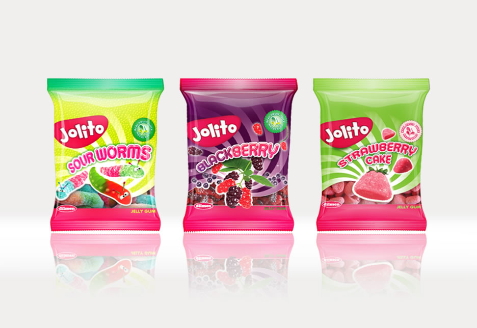 Product Branding and Packaging Design for Jolito Jelly Gummy Candies