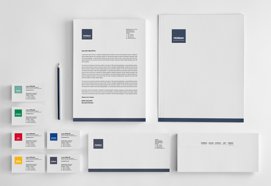 Corporate Branding & Identity Design for Permak Group