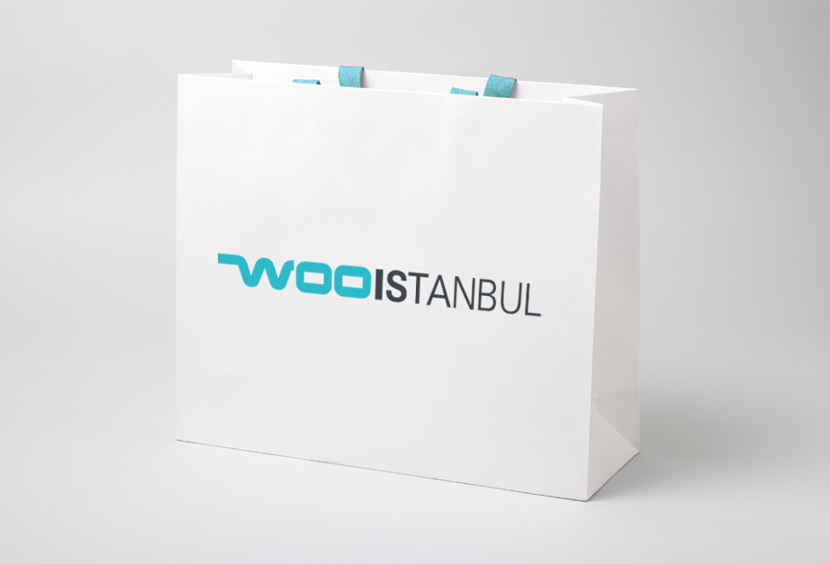 Logo and Identity Design for WOO Istanbul